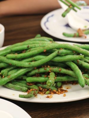 Dumpling Empire-South San Francisco-水饺帝国-水餃帝國-dumpling-Garlic String Beans